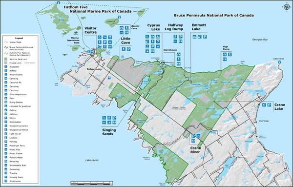 Parks Canada: Maps