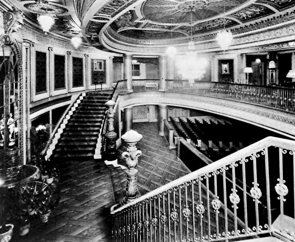 Grand Foyer And Rear Of Auditorium Of Allen Place In Montreal : Parks canada canadian historic sites occasional papers
